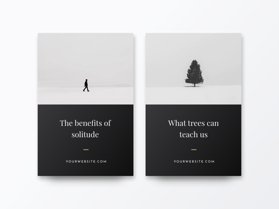 What trees can teach us social media pack minimalism,browser minimalism cards card creative market