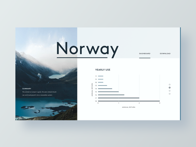 Norway Dashboard infographic resume dashboard norway bar graph chart