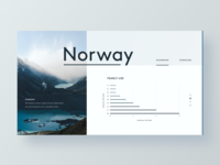 Norway Dashboard