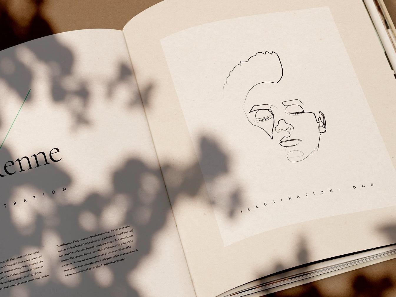 5figara line drawings delightful design3