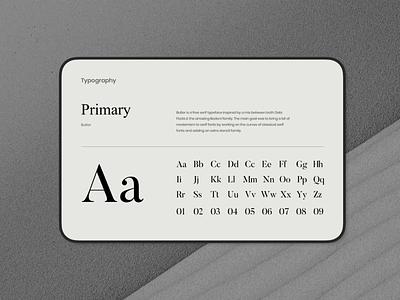 Typography brand manual typography brand manual