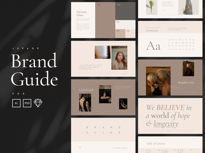 Brand Guide boutique creative market branding agency brand identity branding design brand book branding