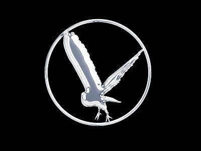 NSI emblem logo metal shiny ooo