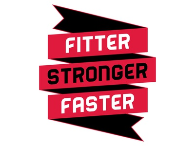 Fitter Stronger Faster crossfit fitter stronger faster motto fitness