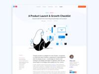 Dreamten Insights Blog insights growth checklist hero banner hero image hero illustration blog post blog design blog