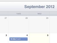 Calendar (PSD Download)