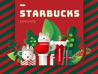 Starbucks series of Christmas
