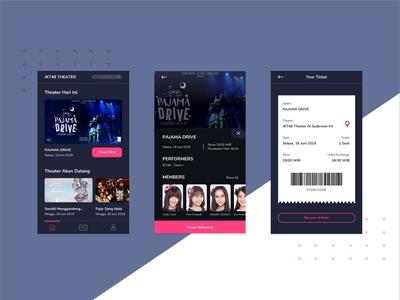 JKT48 Mobile Ticketing