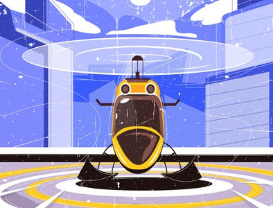TAKE OFF HELICOPTER helicopters take off take takeoff city helicopter icon vector minimal flat designer branding illustrator illustration
