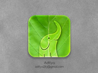 Eco Elephant ios app Icon