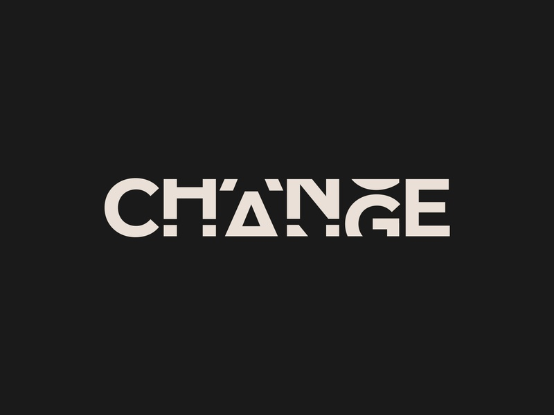 CHANGE Logotype Design logo designer logo design nyc branding process web graphic clean logos icons color ideas create startup website services creative logos gif corporate custom font mark brand book good best freelance logotype inspiration logo design symbol logotype guide modern wordmark portfolio style company creator simple designer smart business typography identity idea trend