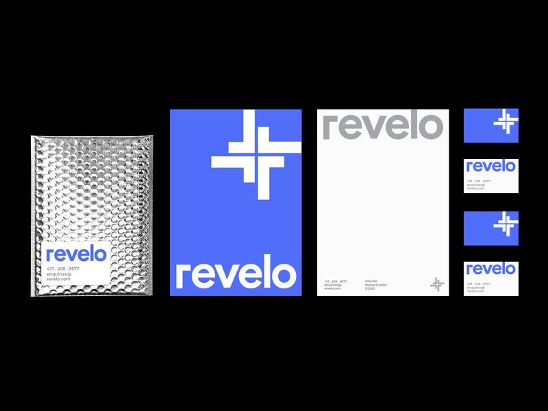 Revelo - Logo and identity Design
