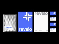Revelo - Logo and identity Design graphic design designer medicine logobranding brand app icon symbol monogram logomark mark logotype  wordmark ideas branding identity hospital logo designer doctor health medical clever inspiration logo design lettermark corona logo mobile brand typography top best logos clean simple logoinspirations