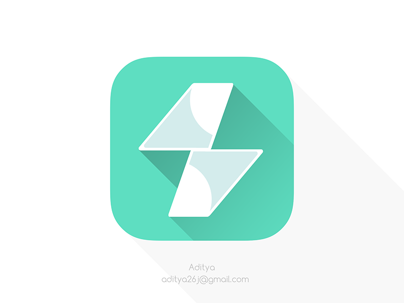 Super Flights Flat Ios App Icon By Aditya
