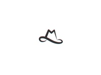 M + Hat  - logo for Millennium Hats (wip)
