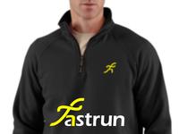 Fastrun logo for sport clothing company