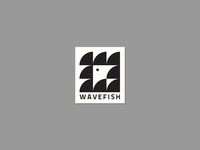 Wave Fish Sticker