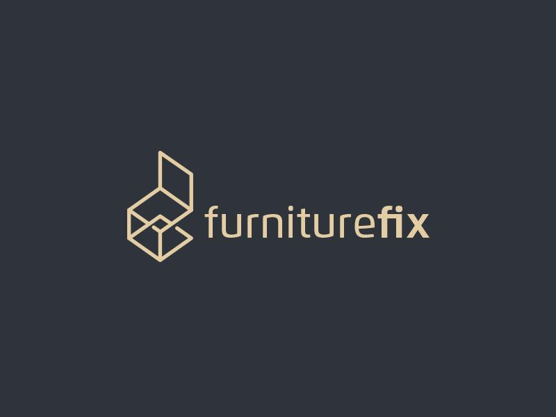 FurnitureFix Logo inspiration-inspirational identity-branding graphics-design brand logotype illustration logos best creative minimal icon logo
