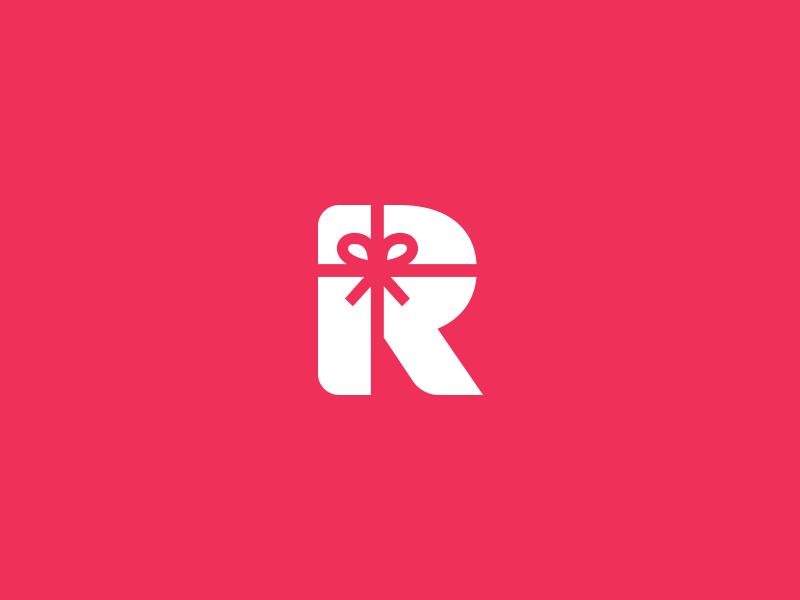R Gift Logo Mark By Aditya Chhatrala On Dribbble