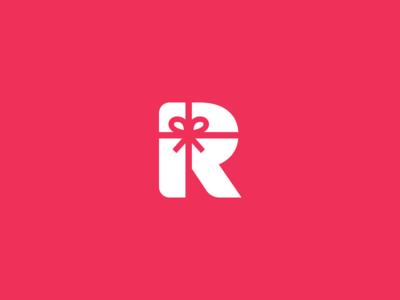 R + Gift Logo / Mark by Aditya Chhatrala - Dribbble