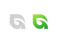 Leaf + G Logo