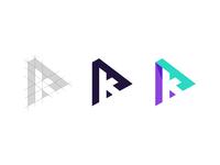 A + K Logo Construction