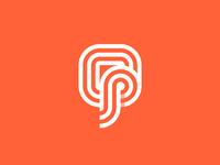 O + P Monogram / logo