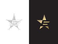 Estar Media Channel Logo ( E + Star )