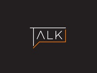 Talk ( chat bubble ) logo