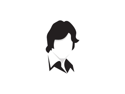 Amitabh Bollywood Actor india bollywood face actor negative space branding illustration identity modern icon logo