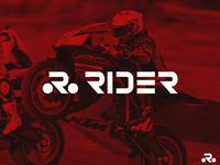 Rider Logo ( R For Rider )