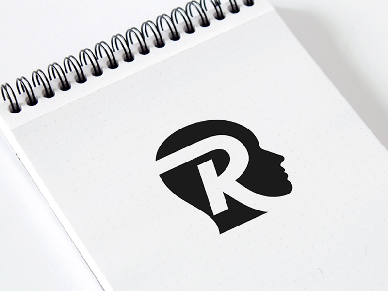 Rolecoin Logo Mark design fonts branding icon logo negative space typography face crypto payment cryptocurrency