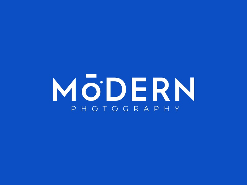 Modern Photography Logo lens monogram subtle mark identity branding idea icon logo photography camera