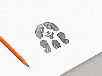 Dog Logo Sketch