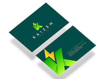 Kaizen Controls Business Card