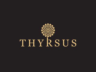Thyrsus Perfume Logo Design