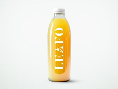 Leafo Natural Logo Design