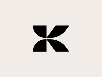 K - logo design brands monogram lettermark art k type typography graphics design logos black inspirational awesome best logotype icon symbol branding identity logo logomark creative logotype