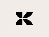 K - logo design