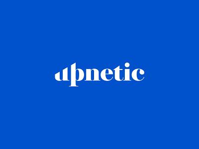 Upnetic Logo Design creative logos logo designer modern minimal subtle typogaphy growth business marketing trading market crypto inspiration wordmark logotype identity branding logo