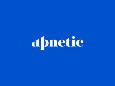 Upnetic Logo Design