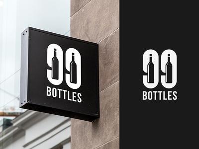 99 Bottles - Bar & Bottle shop logo