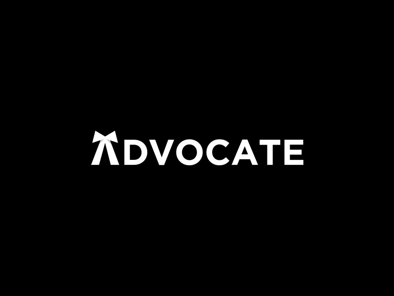 Advocate Wordmark advocate ideas clean mark graphic illustration design ui ux web inspiration best typography logotype symbol icon modern minimal simple subtle brand branding identity black law lawyer business corporate