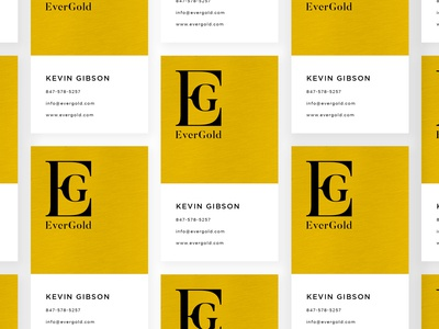 EverGold - Logo & Business Card Design
