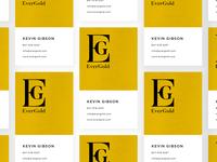 EverGold - Logo & Business Card Design