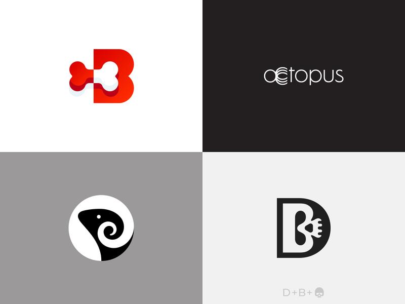 2018 Top 4 Logos inspiration awesome top logos creative lettermark logomark icon branding brand symbol logo designer logo