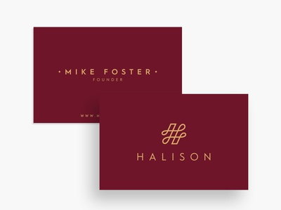 Halison Logo & Business Card Design
