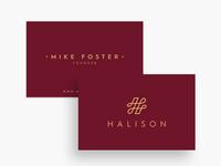 Halison Logo & Business Card Design