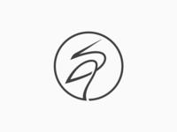 Crane Bird Logo