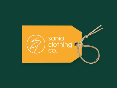 Sania Clothing Co. Logo Design